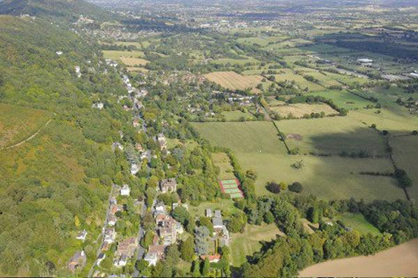 Malvern Wells form the Air