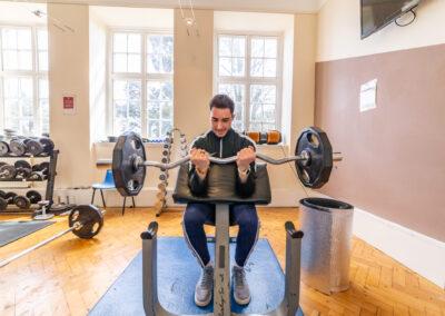 Using gym
